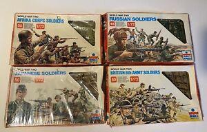 LOT WW2 ESCI ANGLAIS GERMAN JAPONAIS RUSSE 1/72 (5)