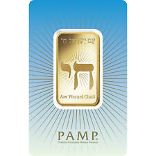 L@@K PAMP 1oz GOLD Bar | Am Yisreal CHAI | Minted PREPPER Survival Investment !!