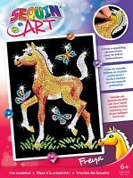 Sequin Art 0905 Freya Foal craft project from the Red range