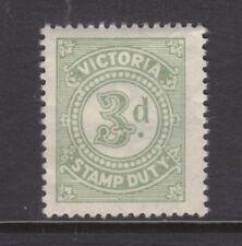 Victoria: 3d Stamp Duty Muh.