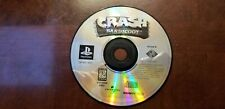Crash Bandicoot PlayStation 1 Ps1, 1996 Disc Only *Tested*