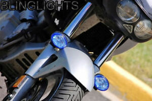 Xenon Halogen Fog Lamps Light Kit For BMW Motorcycle Single Twin F-Series GS