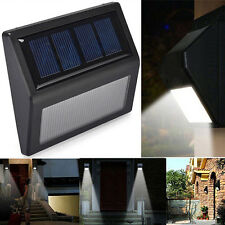 6 LED Bright Solar Power Light Motion Sensor Wall Light Home Outdoor Garden Lamp