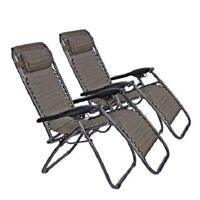 Outdoor Folding Reclining Beach Sun Patio Chaise Lounge Chair Set Pool Lounger