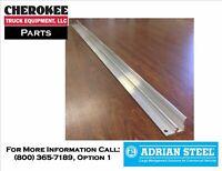 "Adrian Steel SRAILAD44, 44"" Rail for Snap In Bins"
