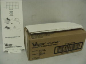 Victor Tin Cat Mouse Trap Glue boards M309 -  72 Glueboards