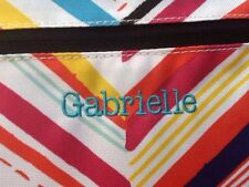New (Gabrielle) Pottery Barn Kids Colorful Classic Lunch Bag Box Tote Pbt