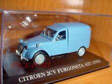 CITROEN 2CV 2 CV (VAN) AZU BLUE 1959 1:43 RARE WITH BOX