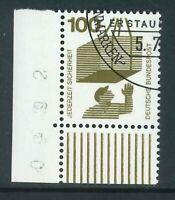 BRD Mi-Nr. 702 Ecke 4 - Eckrand - gestempelt Berlin Ersttag ESST - Gummierung