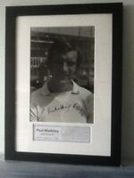 Paul Madeley Leeds United Football Framed FA Cup 1972 Hand Signed Photo