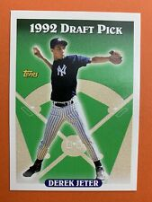 1993 Topps Derek Jeter New York Yankees #98 Baseball Card