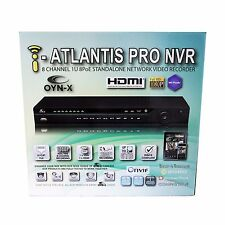 8 Ch NVR Network 2MP Video Recorder Full HD Real Time POE Iphone Ipad Android