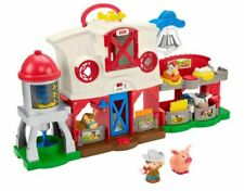 Fisher-Price Little People Caring for Animals Farm, Holiday gift toy for kids 1+