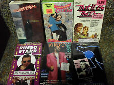 VHS COLLECTION BEATLES Paul McCartney John Lennon Ringo Starr George Harrison