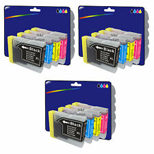 Choose Any 12 Compatible Printer Ink Cartridges for Brother LC1000 Range