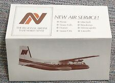 Northern Airlines 1981 System Timetable  -  MN - NE - SD  10-18-81