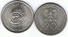 20 Zl Sondermuenze Pierwszy  Polak W Kosmosie  Astronaut 1978 MN TOP