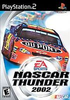 NASCAR Thunder 2002 (Sony Playstation 2, 2001) PS2 Game - CIB Complete - Tested