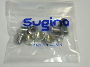 NIP Sugino double chain ring bolt and nut pack S41ca