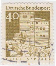 (G580)1964 GERMAN 40pf brown German architecture ow1372