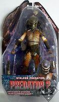 "STALKER PREDATOR Predator 2 Movie 7"" inch Action Figure Series 5 Neca 2012"