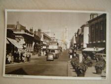 B&W Postcard - LUTON, GEORGE STREET. Used 1956. Standard size.