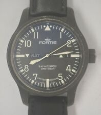 FORTIS B-42 PVD Steel Automatic 44mm Pilots Limited Edition Watch.