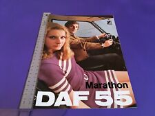DAF 55 Marathon Brochure 1971 - 5/71 Issue No. 7033 - Rare UK Issue !!