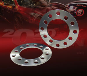 """5mm 3/16"""" 4x100 WHEEL SPACERS FOR BMW CHEVY DODGE FORD MINI COOPER PONTIAC VW"""
