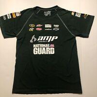 Nascar Chase Authentics Dale Jr. 88 T Shirt Green Size Large