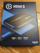 Elgato HD60 S Game Capture Streamer - Black Brand New!!