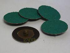 "6 quantity 3M Green Corps Roloc Grinding Discs, 2"" 50 Grit: 01396 1396 MM"