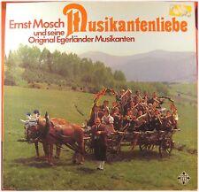 Ernst Mosch Egerländer, Musikantenliebe, G/VG, LP (4925)