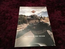 Harley Davidson Motorcycle Brochure 2019 - UK Issue
