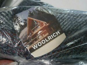 """VINTAGE 2004 Woolrich SALESMAN SAMPLE """"Sunset Pine"""" Throw Blanket 50 x 60 UNUSED"""
