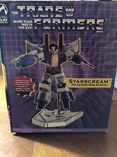 Palisades Transformers Starscream Polystone Mini Statue  #1156/1500