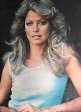 Farrah Fawcett vintage poster original Movie pin-up 1970's Pro Arts Super Farrah
