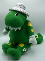 """The Wiggles 23"""" Dorothy Dinosaur Soft Toy with Hat, by Popit Popit, Green, NEW"""
