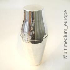 Art Deco Cocktail Shaker Metall versilbert Krupp Berndorf Bauhaus 30er Jahre