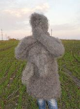 Sweater Turtle-neck Longhair 100% Goat Down Angora Cashmere Mohair UNISEX FETISH