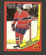 Doug Wickenheiser Montreal Canadiens #26 1982-83 McDonald's Hockey Sticker NM/M