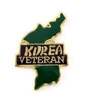 Korea Veteran Lapel Hat Pin Military Marines Army Air Force Navy Vets PPM743