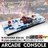 1500 in 1 Pandora Box 6s Retro Video Games Double Stick Arcade Console Light US