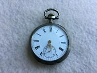 French 10 Rubis Vintage Mechanical Wind Up Pocket Watch