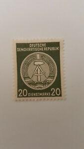 Dienstmarke DDR Nr.  22 x X