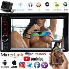Car Stereo Mirrorlink-GPS Bluetooth Radio Double 2 Din 6.2