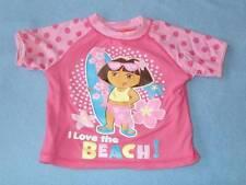 Nickelodeon Dora The Explorer Girls Swim Rashy, Size 2