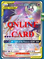 Solgaleo & Lunala GX FA Cosmic Eclipse Digital Card Pokemon TCG ONLINE PTCGO