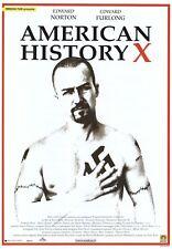 American History X Movie Poster ~ Italian 27x39 Edward Norton