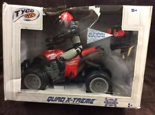 Tyco RC Radio control Quad Striker ATV 27 MHZ NEW Open Box RARE